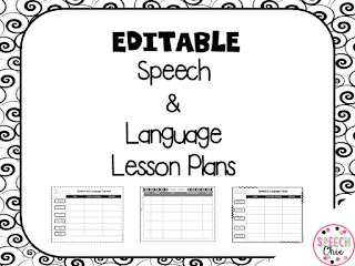 https://www.teacherspayteachers.com/Product/Editable-Speech-Language-Lesson-Plan-Sheets-2091120