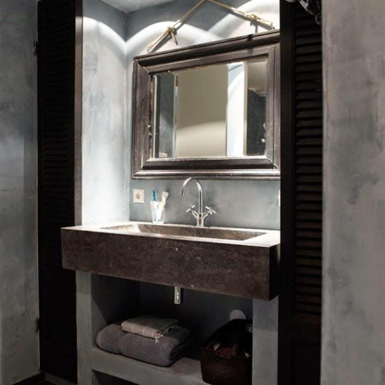 Warm Modern Bathroom Design : Warm inviting modern rustic bathroom decor home