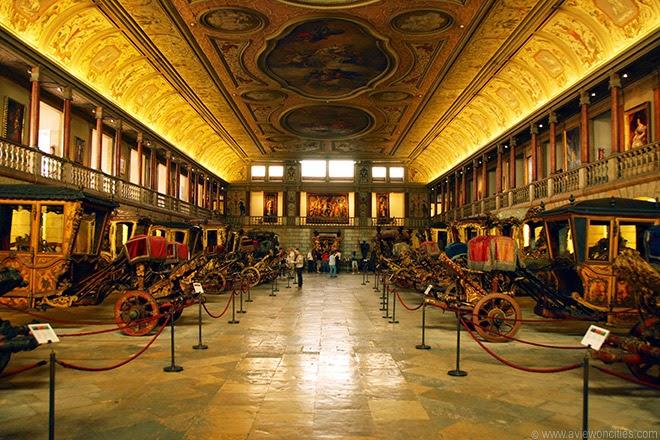 Museus em Lisboa Museu das Carruagens