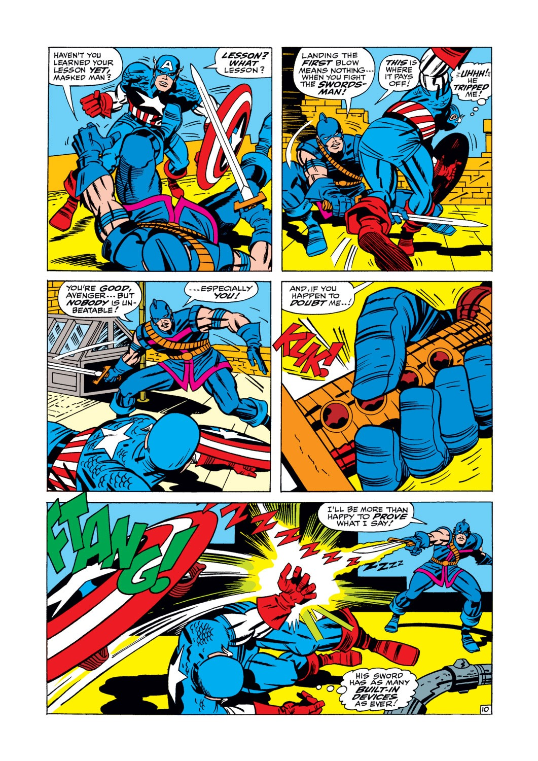 Captain America (1968) Issue #105 #19 - English 11