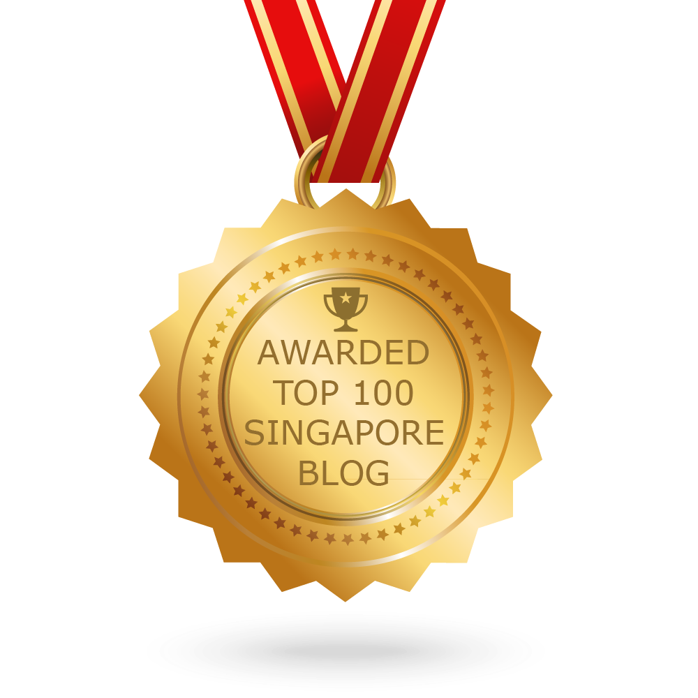 The SG SISTERS Blog is awarded Top 100 Singapore Blogs!