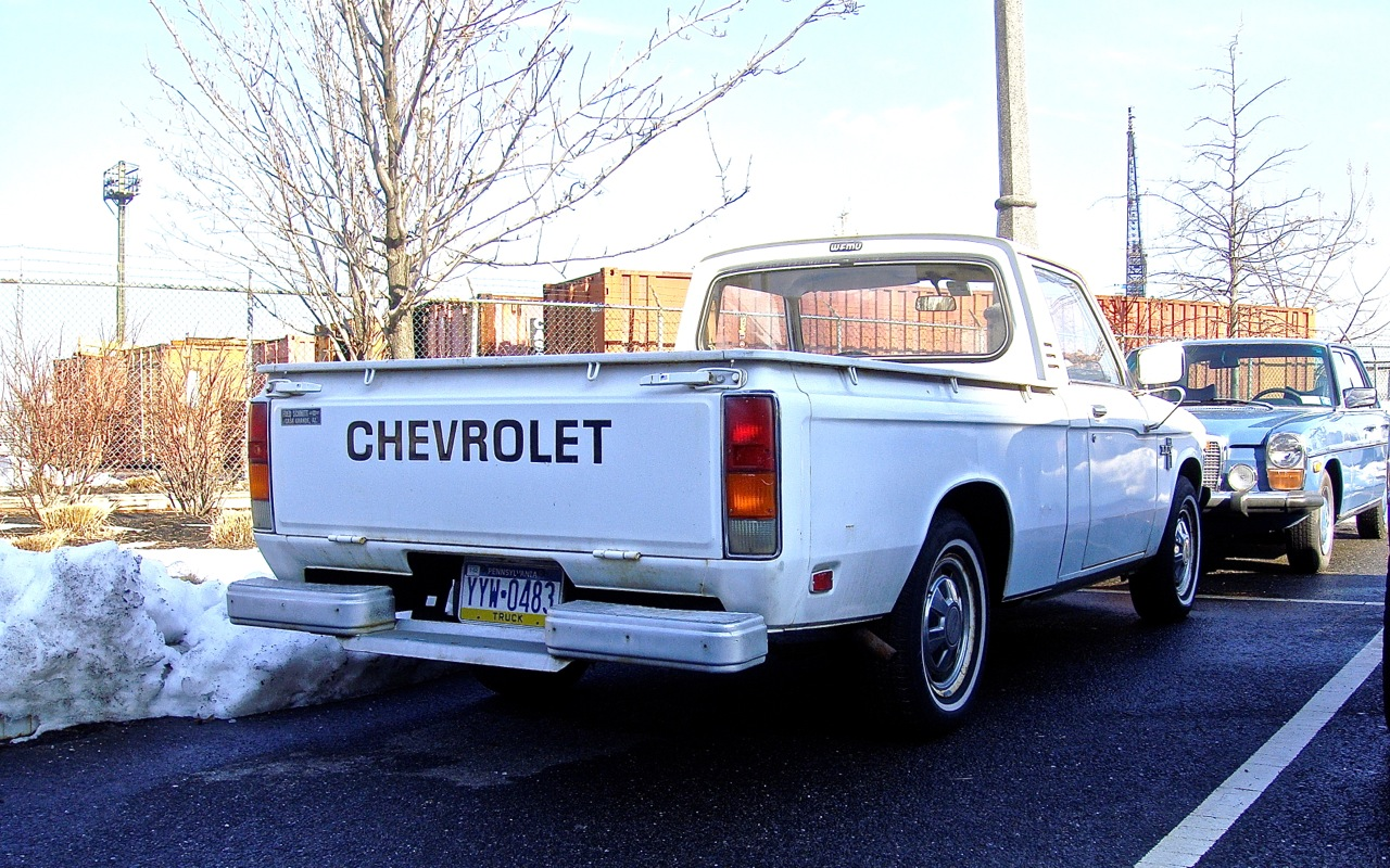 The Street Peep 1978 Chevrolet Luv 1976 Chevy Truck
