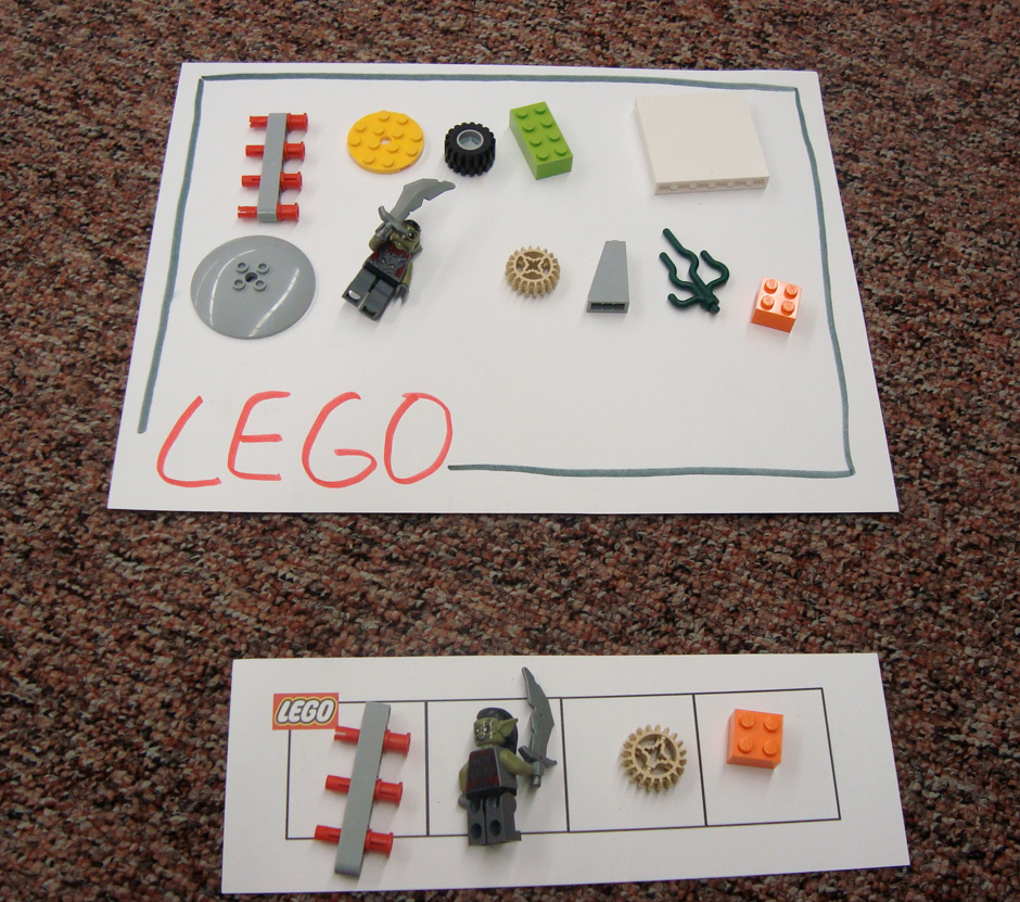 Wiggle, Poke, Giggle, Zoom: Lego Art classes