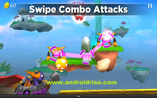 Skylanders Cloud Patrol Android Game