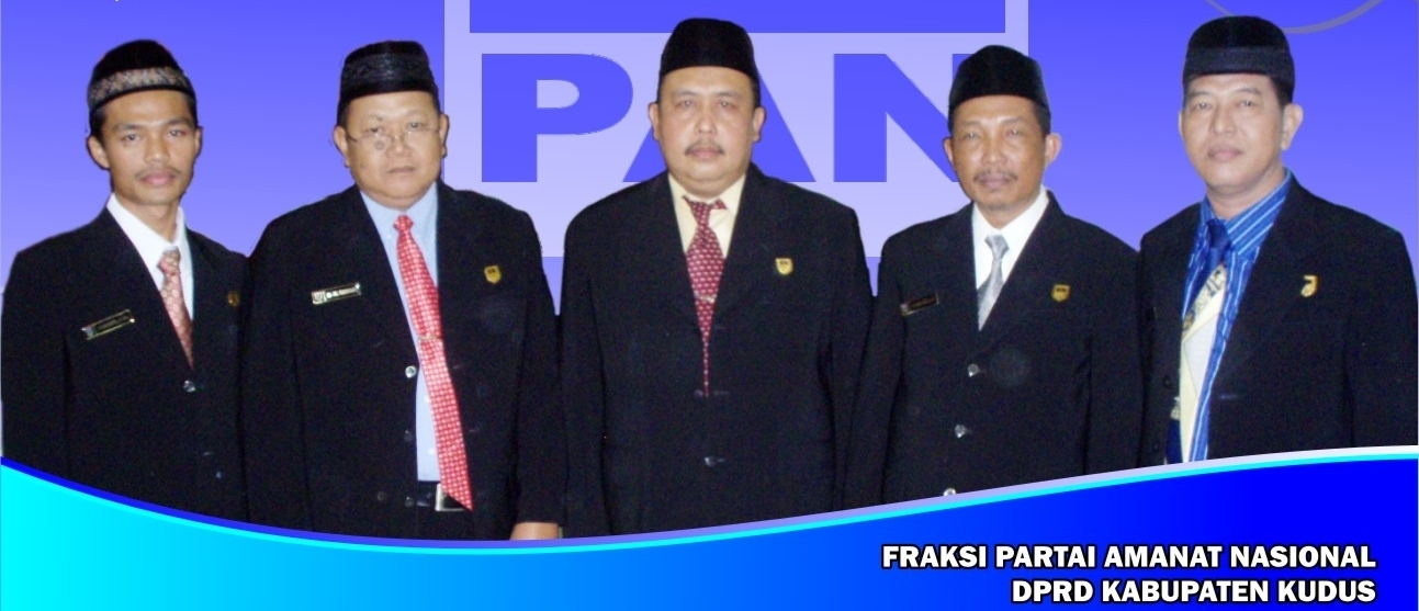 FRAKSI PARTAI AMANAT NASIONAL DPRD KABUPATEN KUDUS