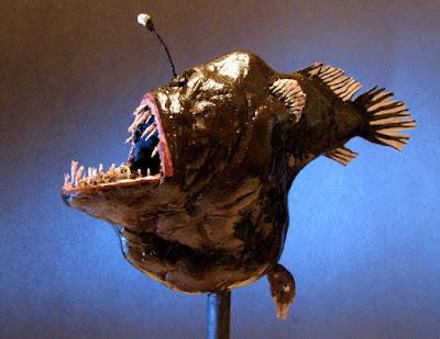 """Melanocetus : Ikan """"Setan Laut Hitam"""" Mengerikan www.guntara.com"""
