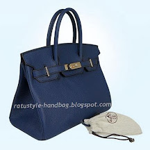 Hermes Birkin 35 Blue Royal
