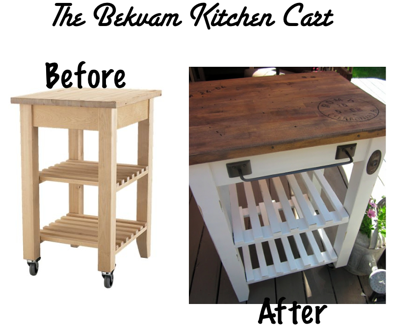 Eclectic snapshots small kitchen fix for Bekvam kitchen cart