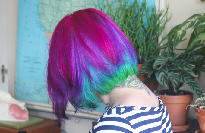 7 tips for maintaining bright hair color - Color Tips Of Hair