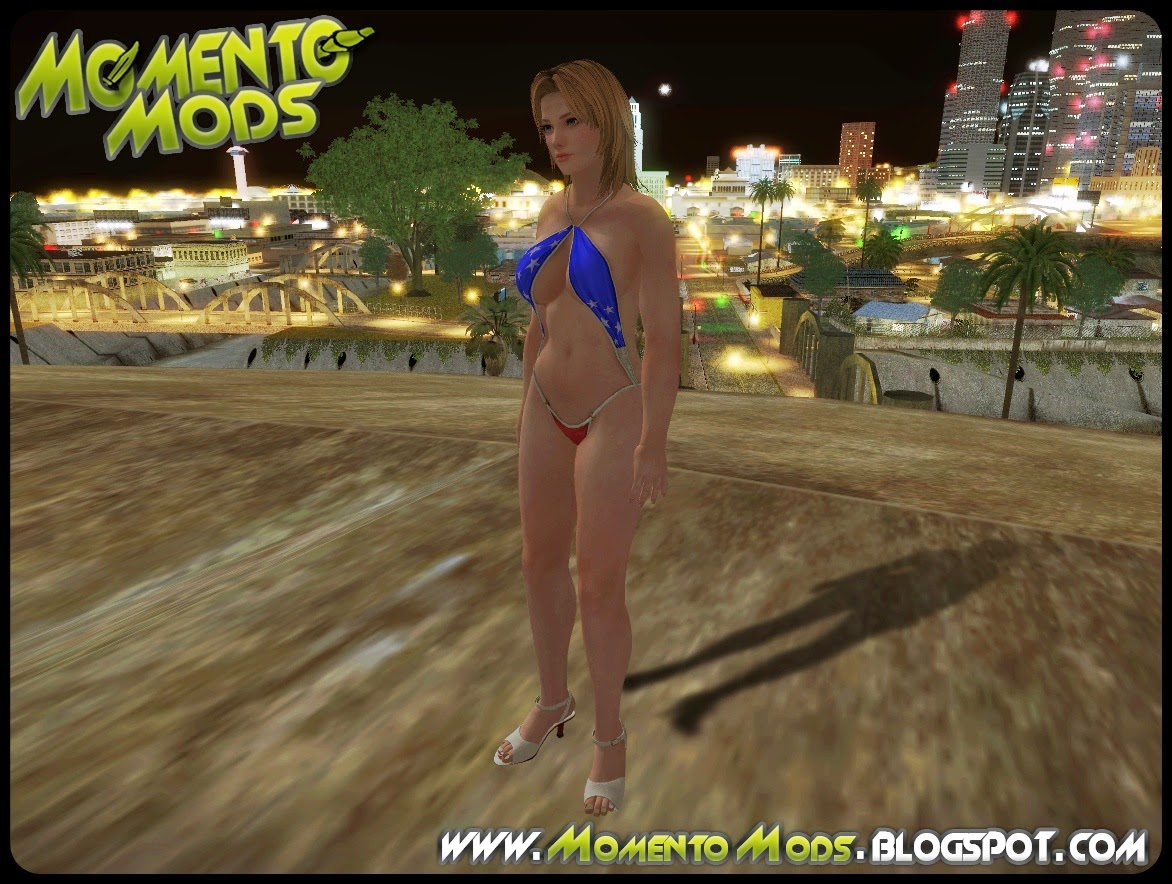 GTA SA - Dead Or Alive5 Tina Bathsuit
