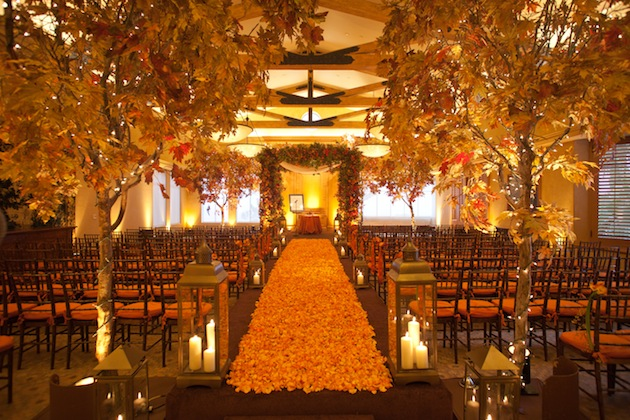 Fall Themed Wedding Decorations