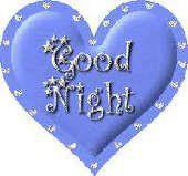 Heart Good night Image