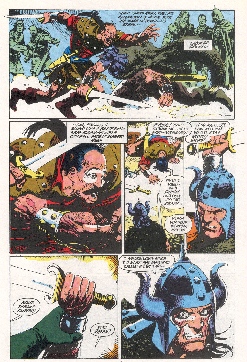 Conan the Barbarian (1970) Issue #266 #278 - English 5