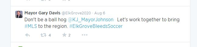 Was Elk Grove Mayor Gary Davis' 'Ball Hog' Tweet Helpful?