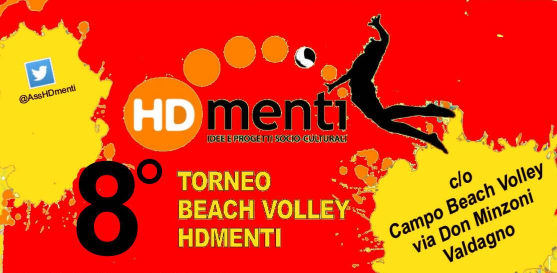 Iscrizione ON-LINE Torneo Beach Volley HDmenti 2017