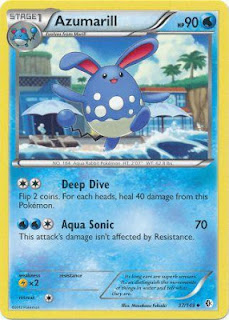 Azumarill Boundaries Crossed Pokemon Card