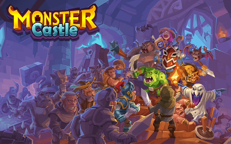 Monster Castle Gameplay IOS / Android