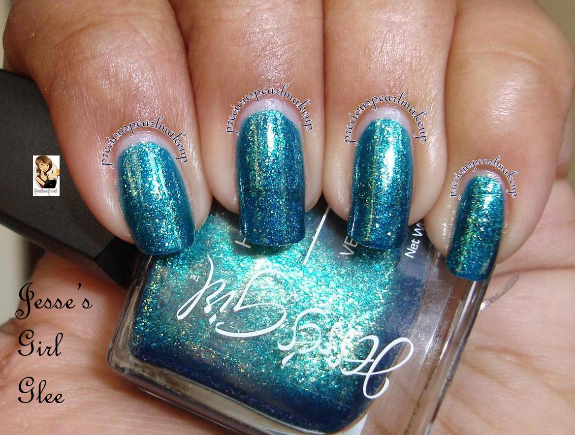 preciouspearlmakeup: Jesse\'s Girl High Intensity Nail color Glee