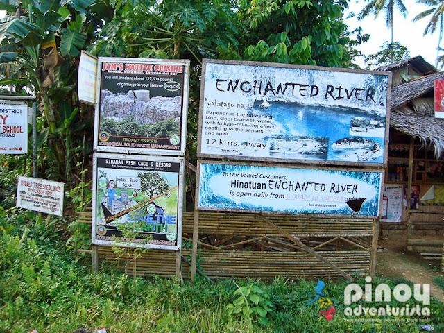 Enchanted River in Hinatuan Surigao del Sur