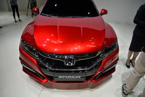 All-New Honda Spirior: Accord Successor