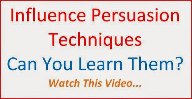 Influence Persuasion Techniques