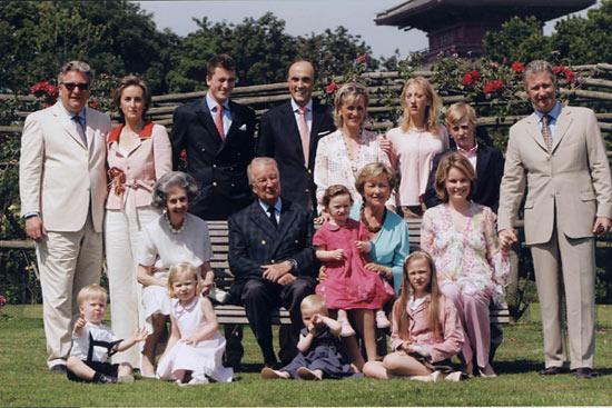 Página oficial de la Casa Real de Bélgica