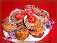 Muffin alle fragole