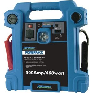 NPower Powerpack Emergency Power Source with Air Compressor