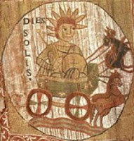 Dies Solis, día del sol en latín
