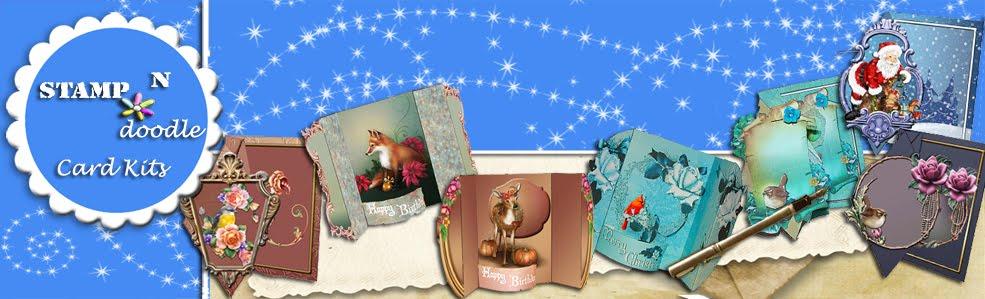 Stamp-n-doodle Card Kits