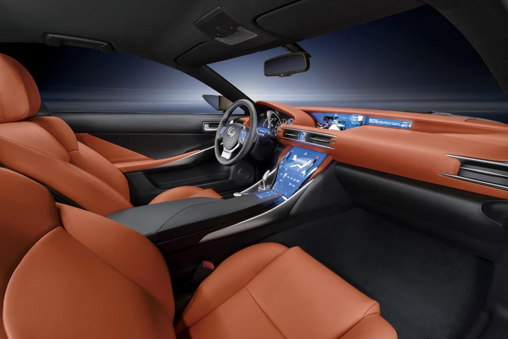 2015 Lexus RC F /motorauthority.com