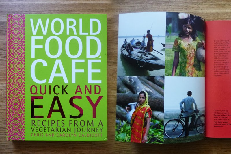 Book review and competition world food cafe quick and easy a cookbook with just chapters on countries each with a handful of recipes is rather a new on me great if you dont want to commit to a whole book on forumfinder Choice Image