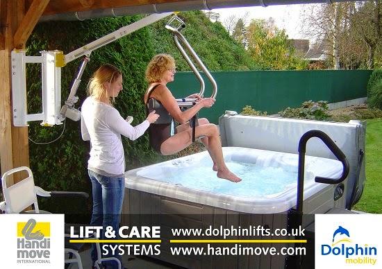Dolphin Lifts - Hot Tub Hoists
