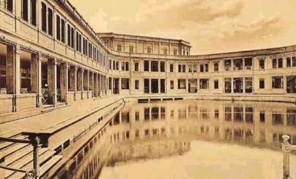 Bagni Diana. la prima piscina pubblica di Milano