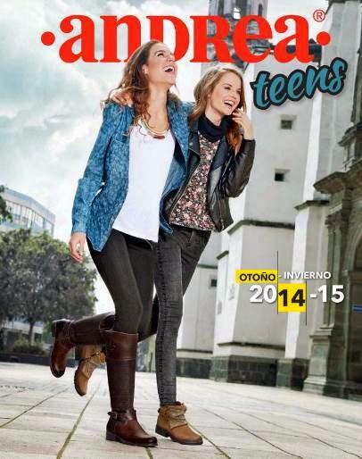 catalogo andrea teens oi 2014-15