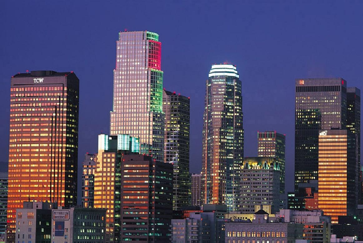 World visits los angeles the most populous city of california for Is la a city