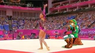 Gimnasta Mexicana Elsa Garcia Rodriguez Blancas