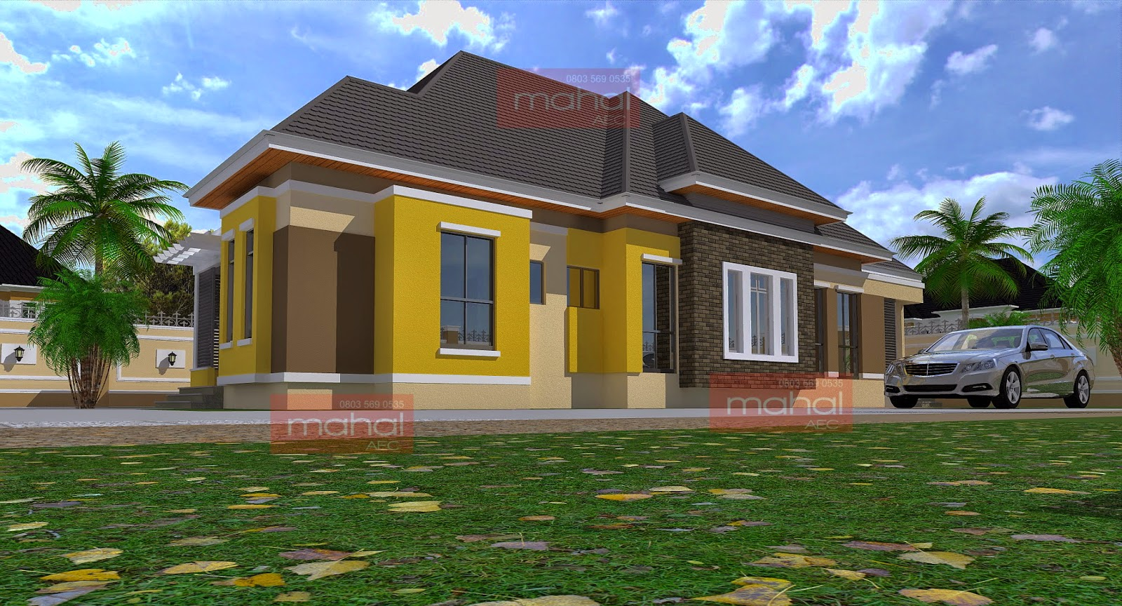 Bungalow Houses In Nigeria Joy Studio Design Gallery