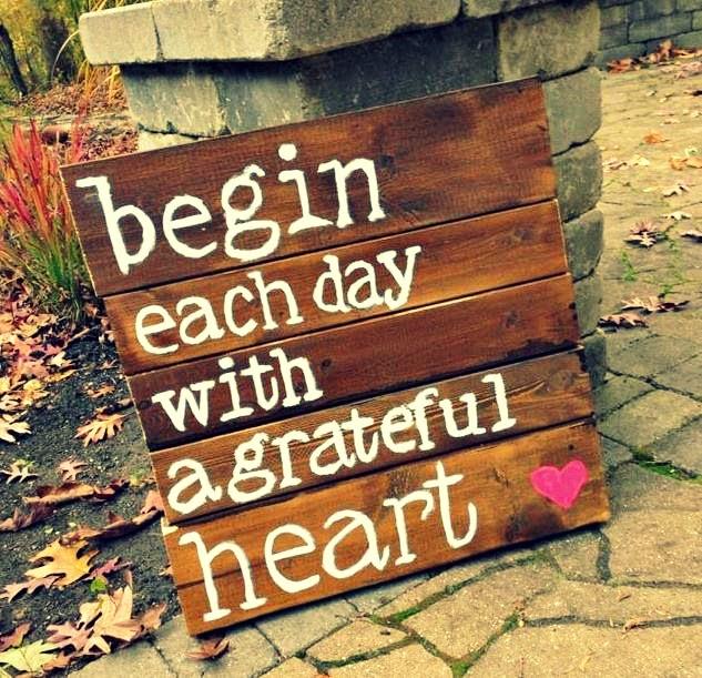 Incepe-ti fiecare zi plin de recunostinta