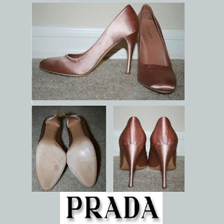 PRADA Satin Pumps Kate Middleton style