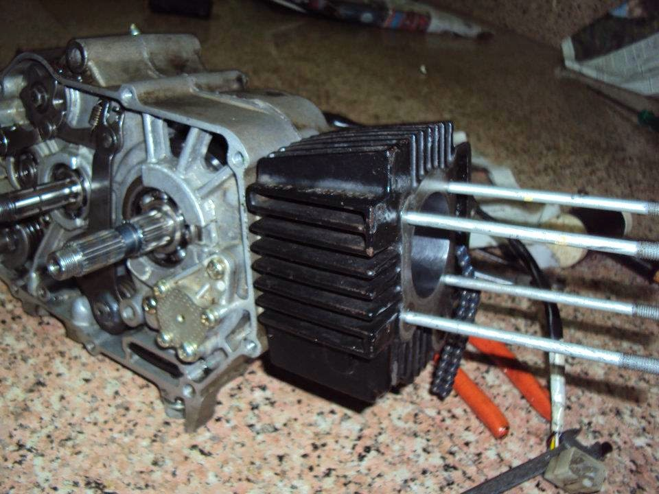 Twisted Throttle Bikes  Hero Honda Splendor Plus Engine