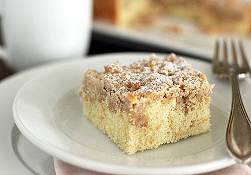 The Galley Gourmet: New York-Style Crumb Cake