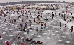 Largest charitable Ice fishing contest in the world