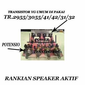 cara memperbaiki speaker aktif rusak