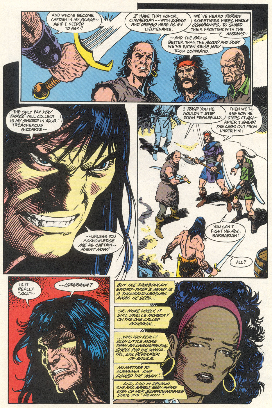 Conan the Barbarian (1970) Issue #275 #287 - English 4