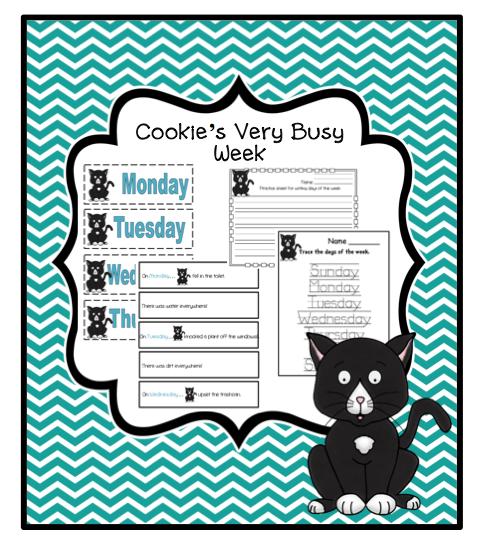Cookie's Week Printable Activities