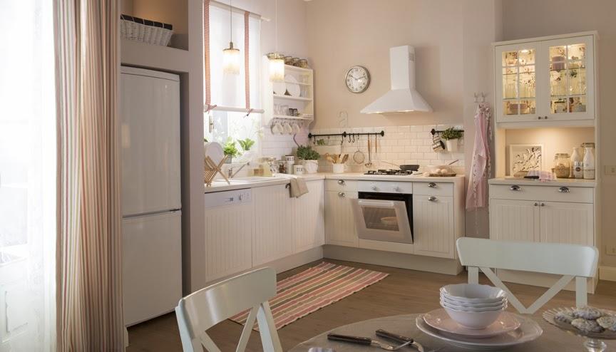 L 39 appartamento al piano di sotto stile nordico da ikea non solo arredamento - Mobili stile provenzale ikea ...