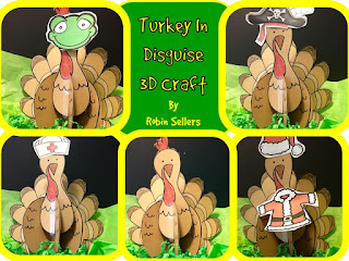 turkey in disguise craft
