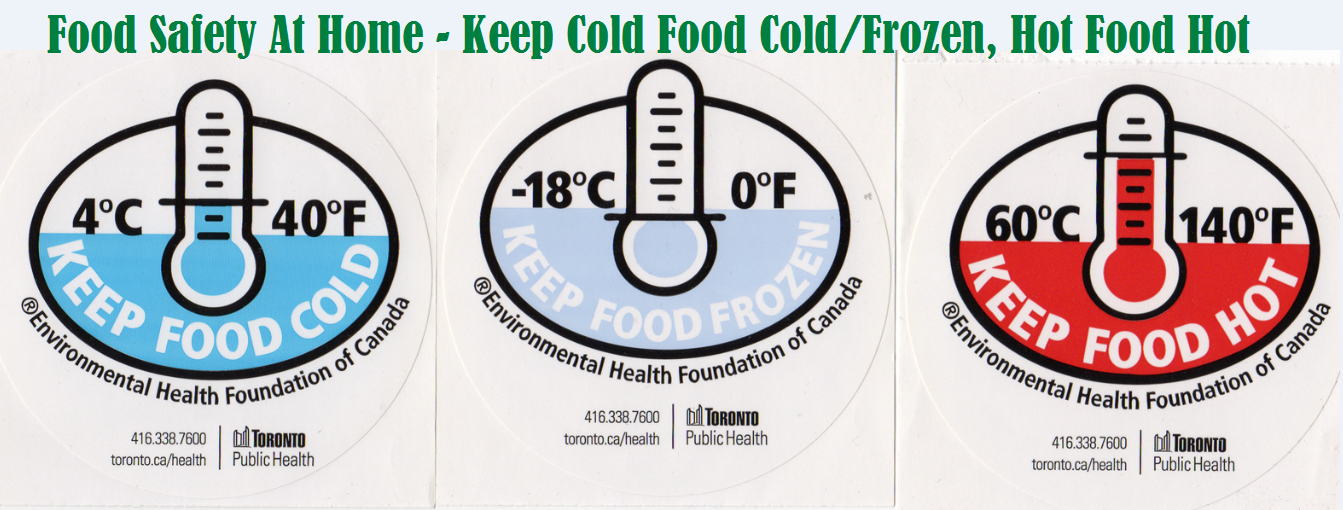 Cold Food Temperature Keep Hot Food Hot And Cold