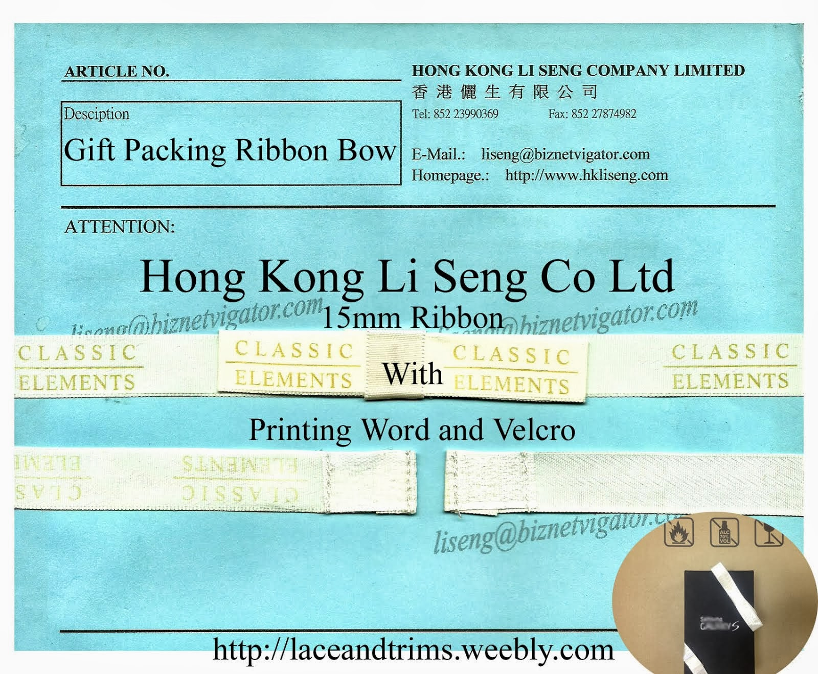 Gift Packing Ribbon Bow Manufacturer Wholesale Supplier Hong Kong Li Seng Co Ltd
